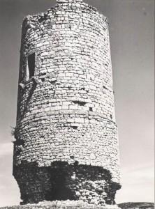 Gioia dei Marsi – Torre danneggiata dopo il sisma