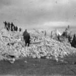 Avezzano - Edifici distrutti