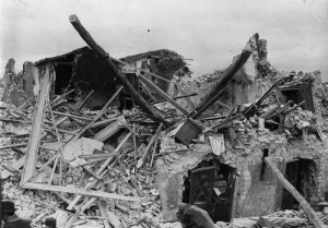 Avezzano, Italy, Earthquake of January 13, 1915.  Scenes of A…
