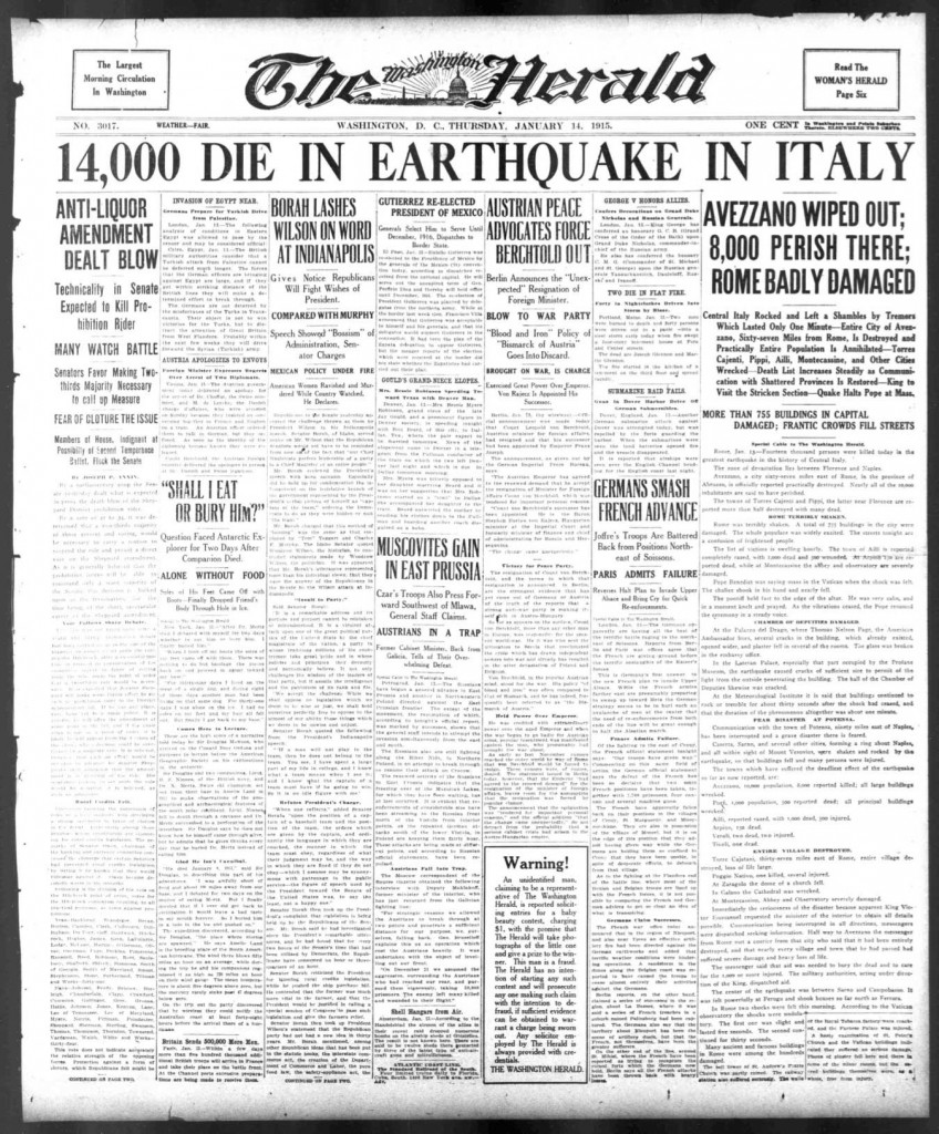 The-Herald-14-01-1915