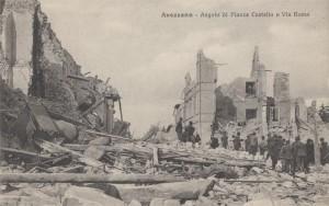 Avezzano – Angolo di Piazza Castello e Via Roma